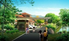 娄底付总别墅景观设计 (2图)