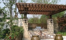 欧式风格庭院实景 (4图)