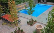 现代风格花园实景 (5图)