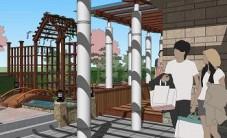 郑总屋顶花园设计 (4图)