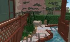 托斯卡纳别墅庭院设计 (4图)