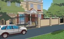 碧桂园别墅庭院景观设计 (6图)