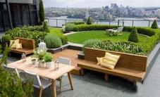 现代屋顶花园 (4图)