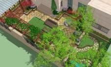 长沙奥林匹克花园庭院景观设计 (7图)