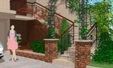 托斯卡纳别墅花园设计 (6图)