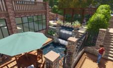 长方西郡别墅花园景观设计 (4图)