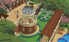 金色溪泉湾别墅乐虎国际手机版设计 (5图)