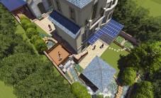 橘郡礼顿山别墅庭院景观设计 (5图)