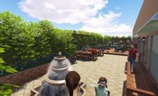 万博汇屋顶花园乐虎国际手机版工程设计 (9图)