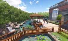 长沙青山铺镇自建别墅花园景观设计 (6图)
