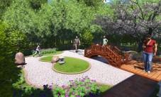 长沙岳麓山公馆别墅庭院景观设计 (5图)