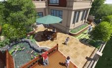 山语城别墅庭院景观设计 (5图)