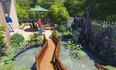 长沙深业睿城别墅花园景观设计 (6图)