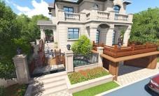 美洲故事别墅庭院乐虎国际手机版设计 (5图)