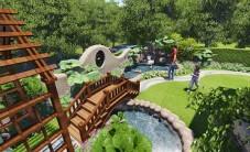 爵士名邸别墅花园景观设计 (5图)