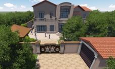 长沙青竹园别墅花园乐虎国际手机版设计 (4图)