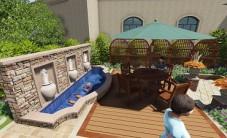 长沙玫瑰园屋顶花园乐虎国际手机版设计 (4图)