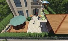 保利香槟国际别墅花园乐虎国际手机版设计 (5图)
