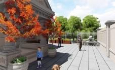 长沙碧桂园威尼斯城别墅庭院景观设计 (6图)