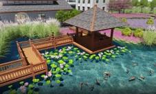 大通湖游客中心乐虎国际手机版设计 (9图)
