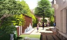 株洲北欧小镇别墅园林景观设计 (8图)