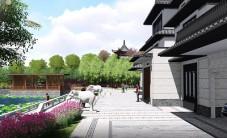 汨罗自建别墅花园园林景观设计 (7图)