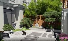 长沙五矿万境蓝山别墅庭院设计 (5图)