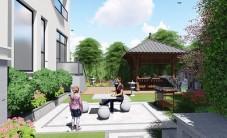 麓谷锦园别墅花园园林景观设计 (7图)